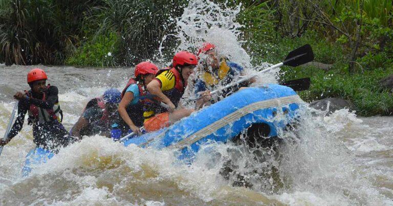 Kitulgala white-water rafting